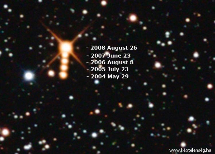 «Летящая звезда Барнарда» - одна из самых «быстрых» звезд наблюдаемых с Земли