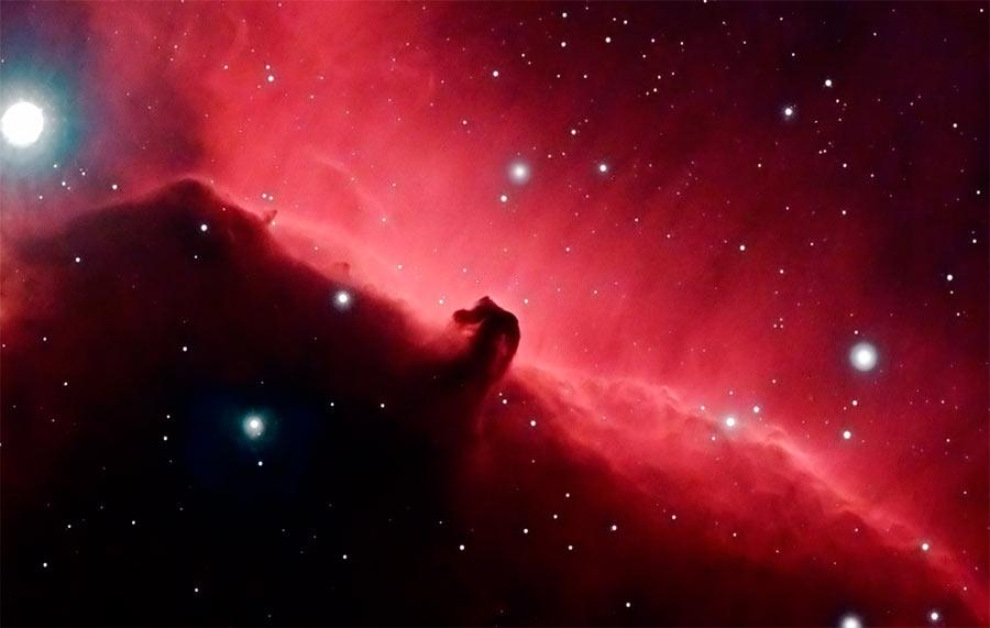 Тёмная туманность «Конская голова»