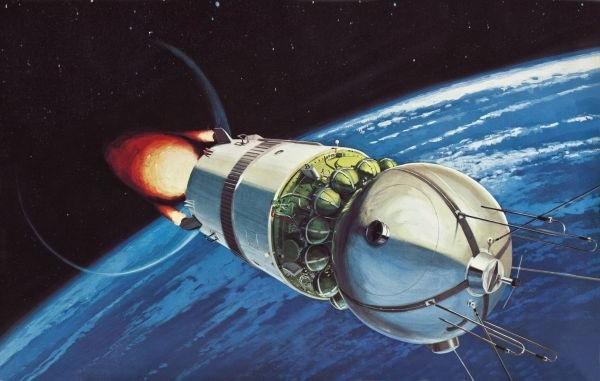 Космический корабль «Восток» - до машины времени ему, как до Луны пешком