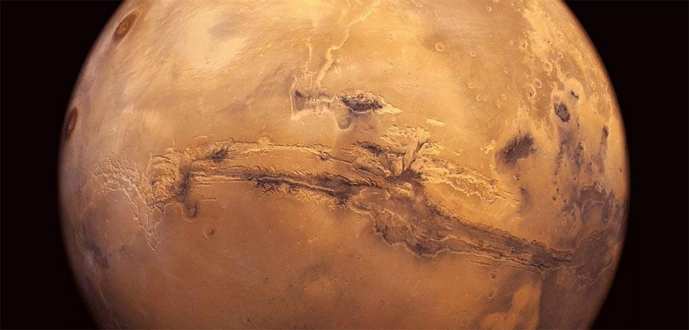 Долина Маринер - громадная марсианская сеть долин