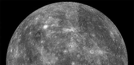 Планета Меркурий, как её увидел зонд «Мессенджер» в 2011 году