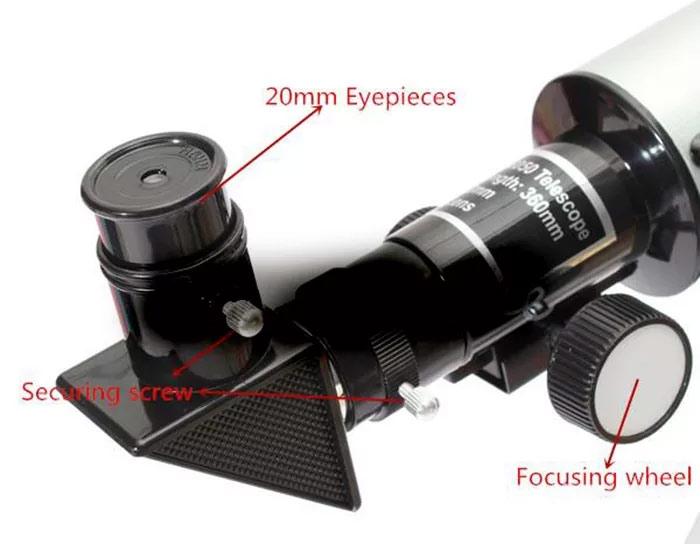 Зенитный окуляр - очень удобная штука, позволяющая наблюдать за звездами сохраняя удобное положение головы