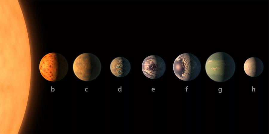 Звездная система TRAPPIST-1 сулила множество открытий - как минимум 3 из её планет вращались в «зоне жизни» звезды.