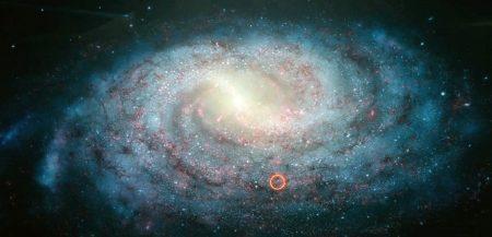 Как устроена галактика Млечный путь - ядро, бладж, гало, звездный диск.