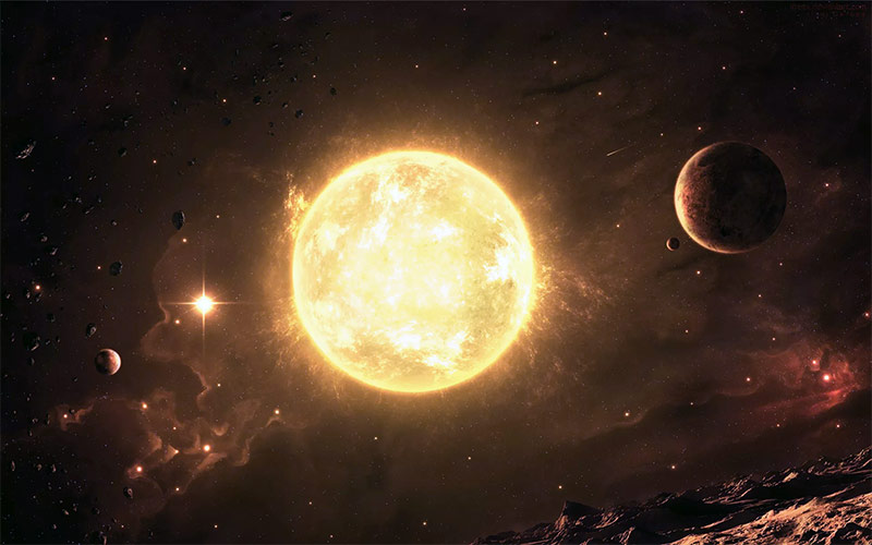 На первый взгляд, идея измерить массу Солнца, кажется фантастикой. На самом деле для этого не понадобится ничего, кроме простейших вычислений