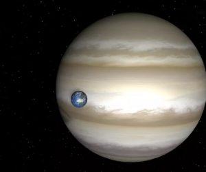 Юпитер - крупнейшая планета Солнечной системы