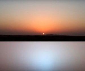 наблюдение звезд и планет с Марса
