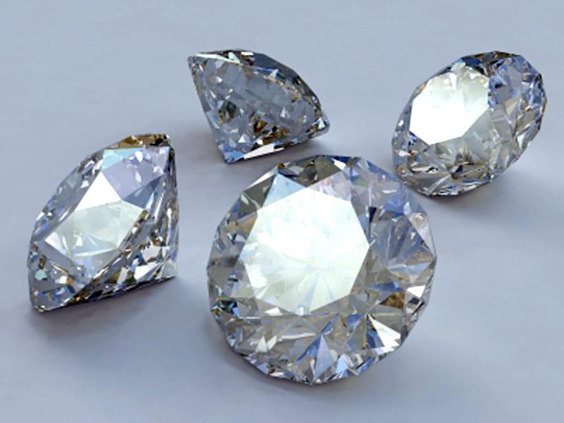 Бриллианты - ограненные алмазы