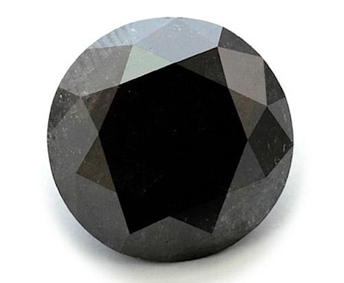 Черный бриллиант, в отличие от прозрачного собрата, полностью поглощает