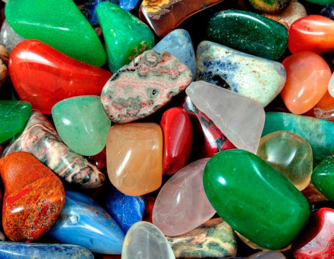 облагороженные драгоценные камни