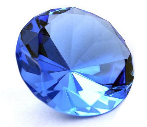 Драгоценный камень Сапфир - синий корунд
