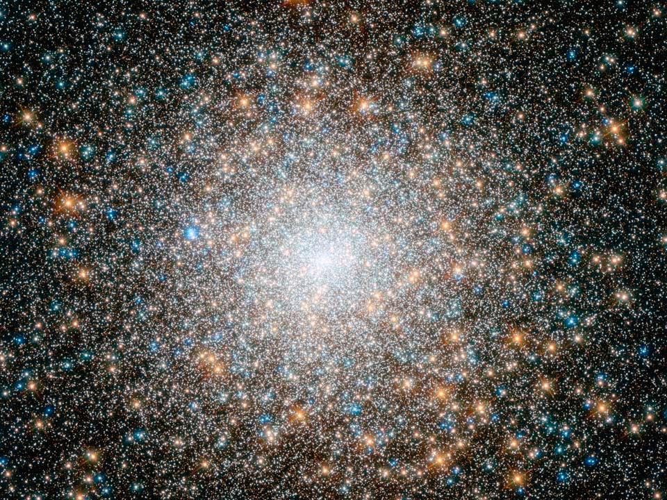 Шаровое звездное скопление NGC 3572