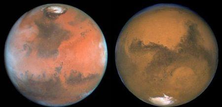 Какая температура на Марсе?