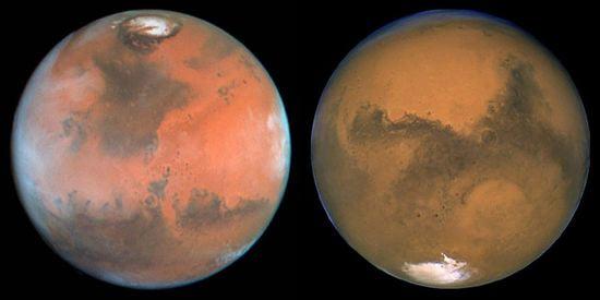 Есть ли атмосфера на марсе