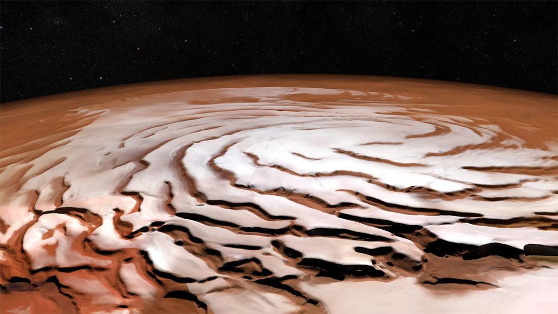 погода и температура на Марсе