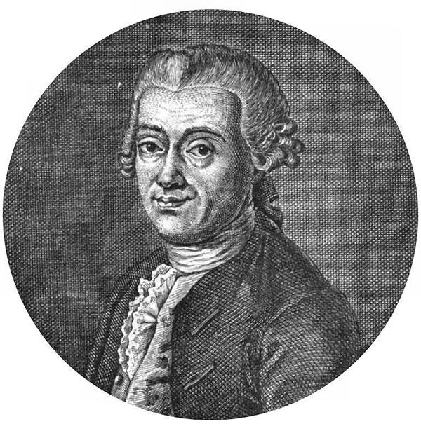 Иоганн Тициус - астроном, физик, математик. Автор «правила Тациуса-Боде» позволяющего достаточно точно высчитать расстояние между планетами солнечной системы