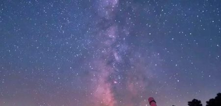 Когда мы думаем о наблюдении звездного неба, то представляем что-то в этом роде