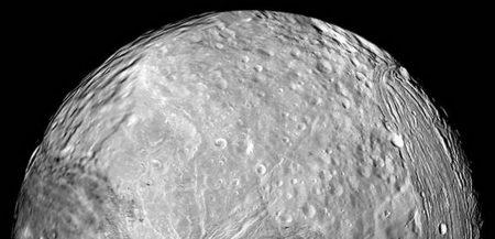 Миранда - один из спутников Урана.