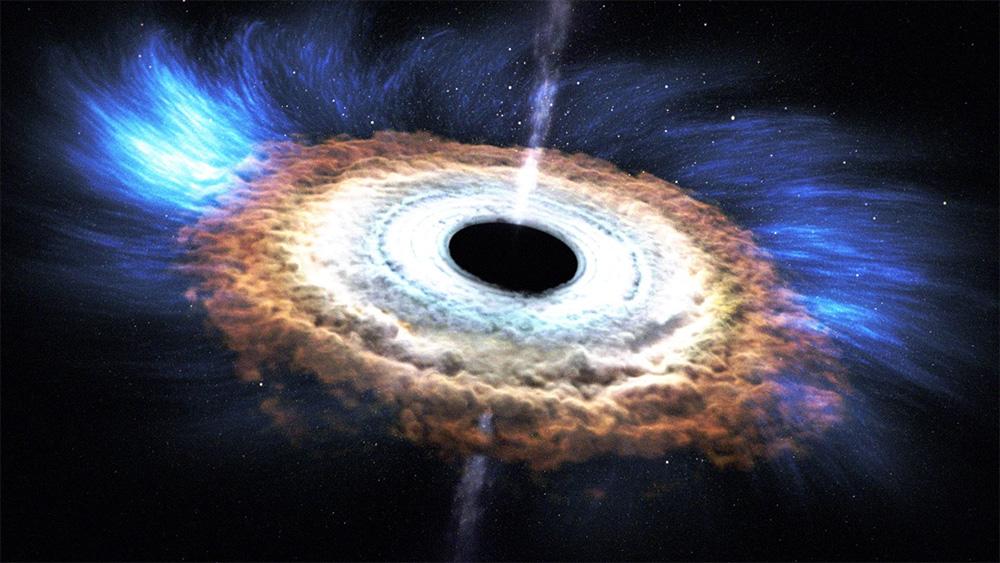 как выглядят «черные дыры» мы не знаем.