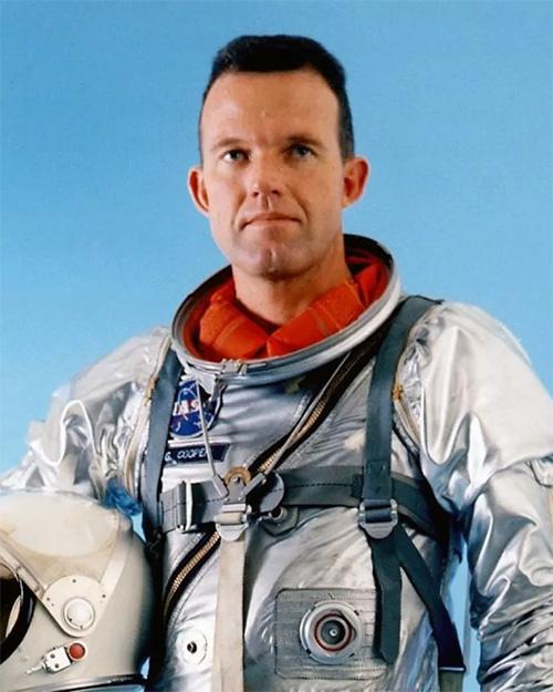Американский астронавт Гордон Купер - последний пилот программы «Меркурий»