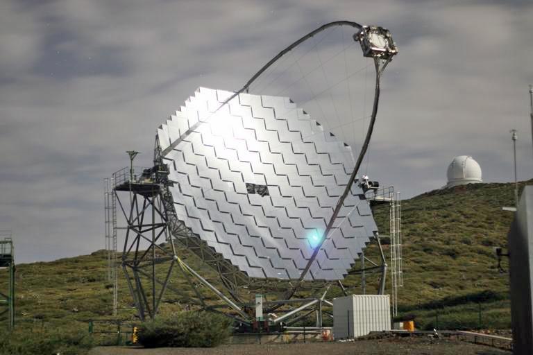 Задача гамма-телескопа: «ловить» вспышки квазаров и пульсаров