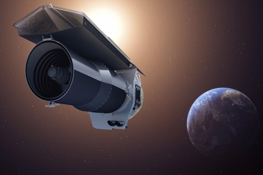 Инфракрасный телескоп Spitzer Space Telescope