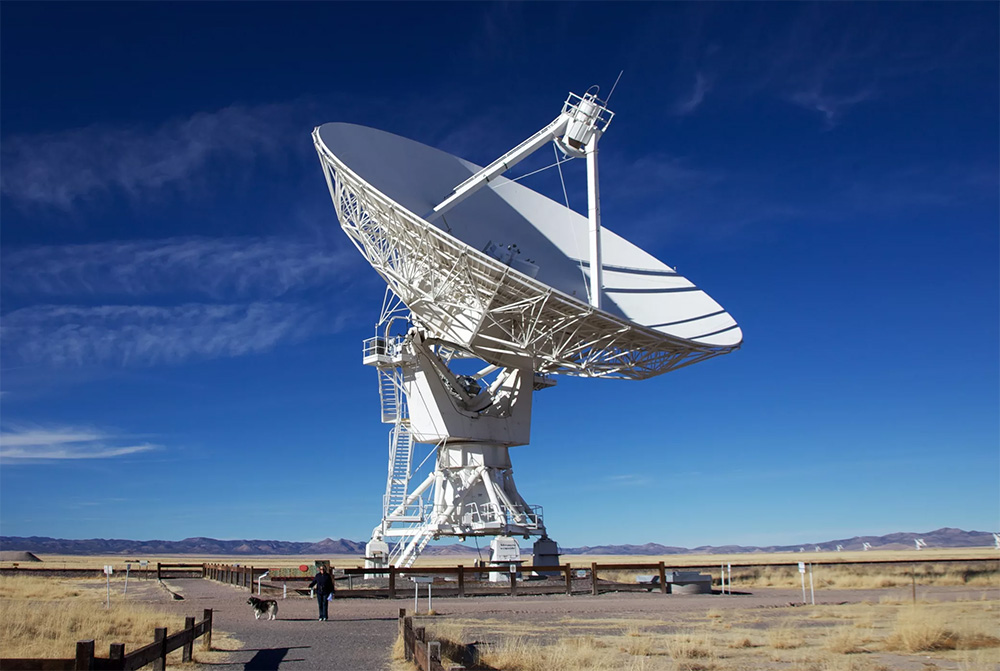 Радиотелескоп - основа радиоастрономии