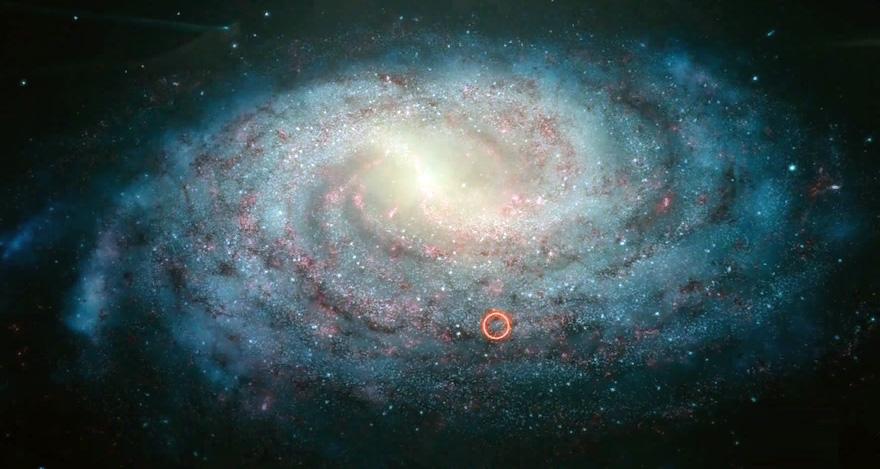 строение галактики млечный путь