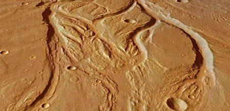 Когда на Марсе текли реки и чем марсианские реки отличались от земных?