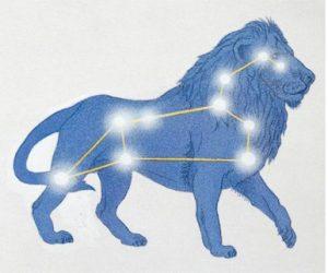 Наблюдение созвездия Лев (Leo) на небосклоне