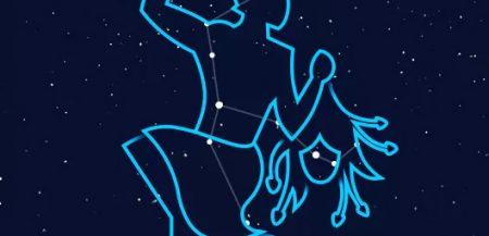 Созвездие Персей (Perseus) на небе