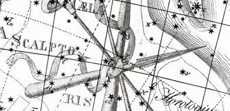 Созвездие Резец Скульптора (Caelum)