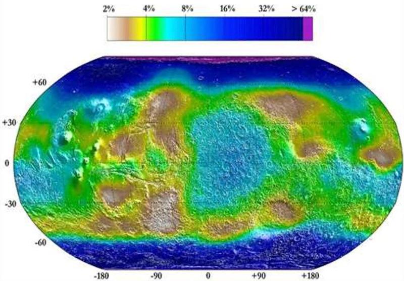 Вечная мерзлотаМарса (криолитосфера Марса)