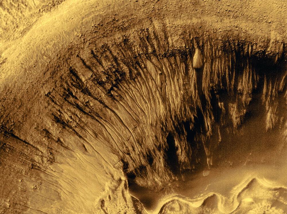 Вечная мерзлота на Земле и на Марсе