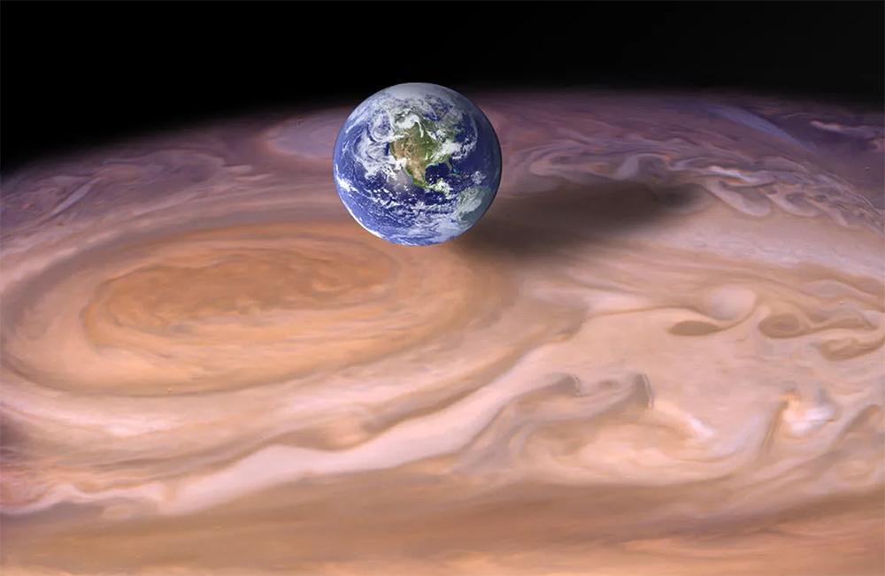 Большое Красное Пятно Юпитера - характеристики и размеры