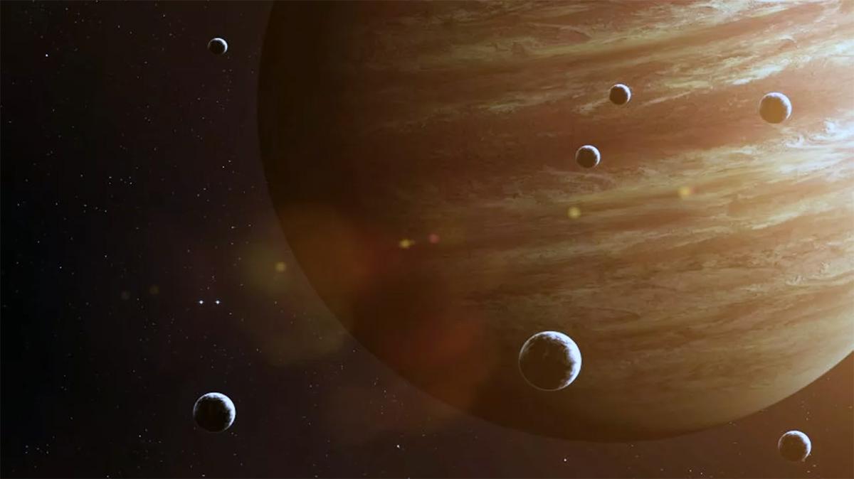 Юпитер и его 79 спутников