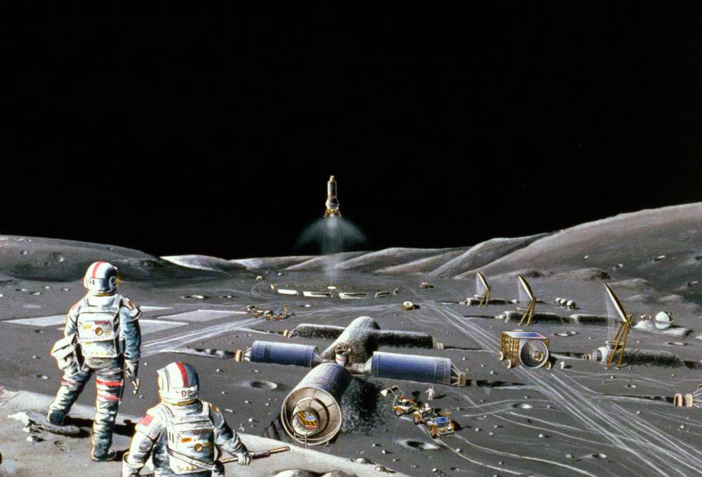 колония землян на Меркурии