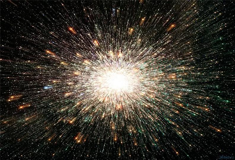 «Большой Взрыв» вселенной с точки зрения художника