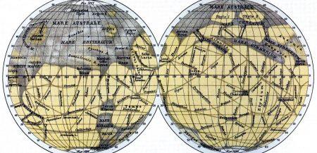 Марсианские каналы - были ли они на самом деле?