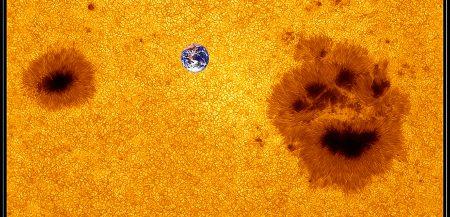 Солнечные пятна и солнечные циклы