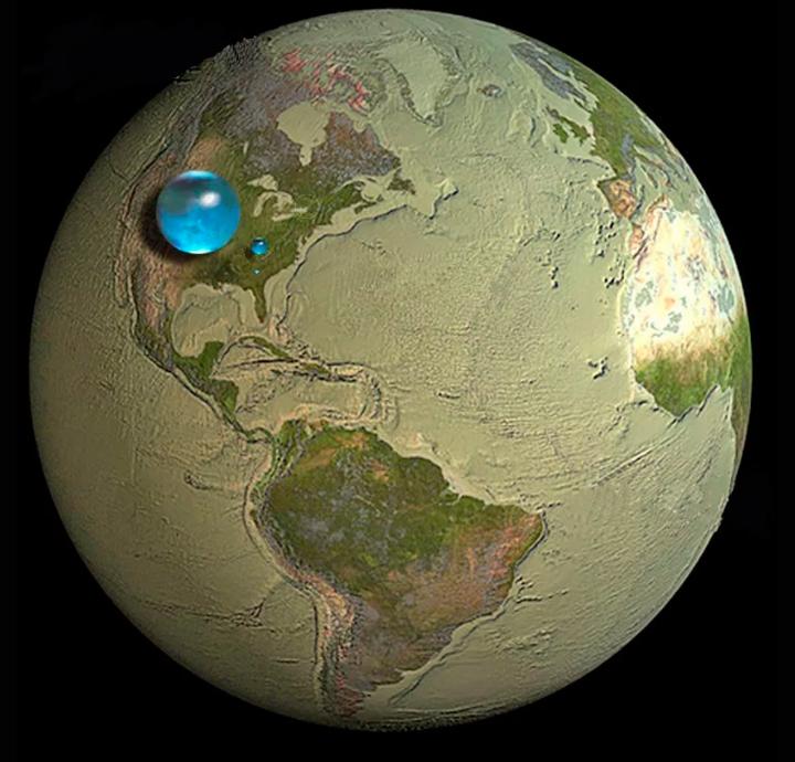 Сколько воды на Земле