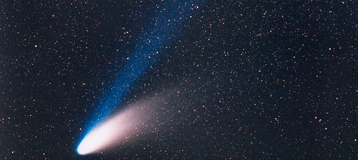 Наблюдение кометы Хейла-Боппа в 1997 году