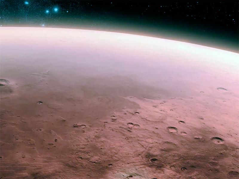 Скорее всего жизнь на Марсе была раньше. Вопрос только: погибла ли она безвозвратно или просто «спит» в вечной мерзлоте Красной планеты?