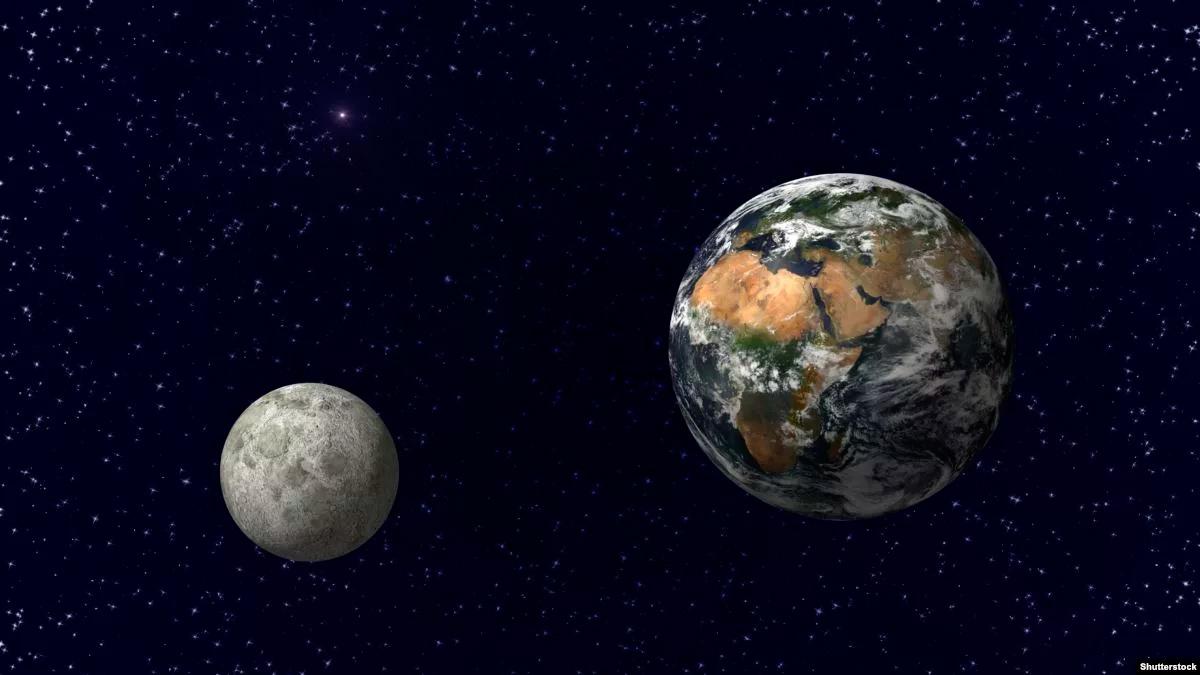 сколько расстояние от земли до луны