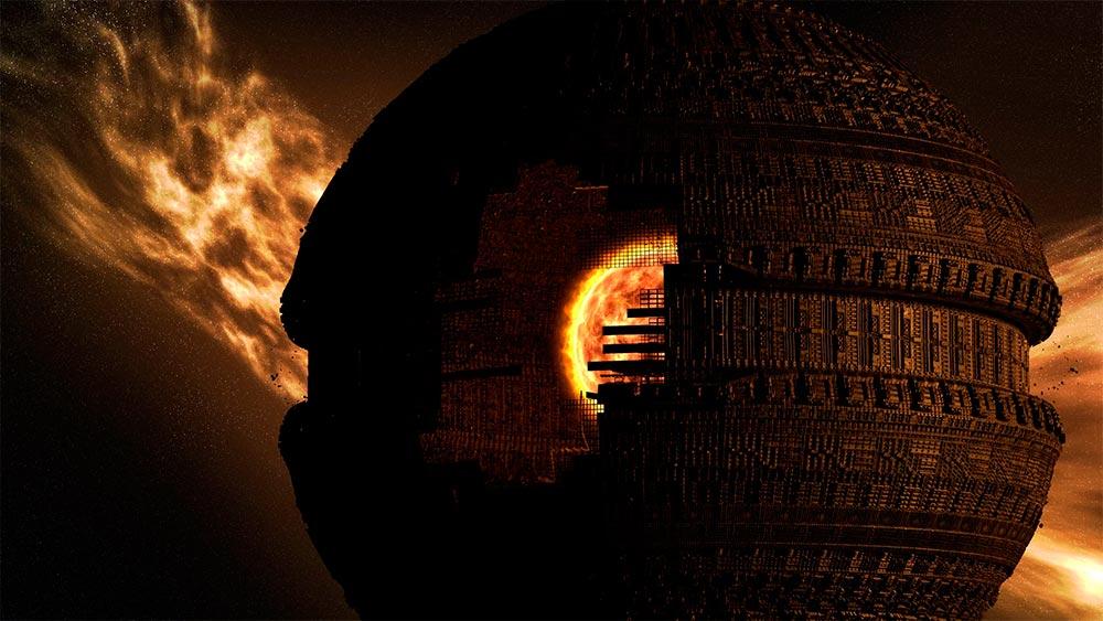 Сфера Дайсона - фантастическая попытка на 100% использовать энергию  Солнца