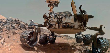 Обнаружение марсоходом Curiosity метана и признаков органики на Марсе