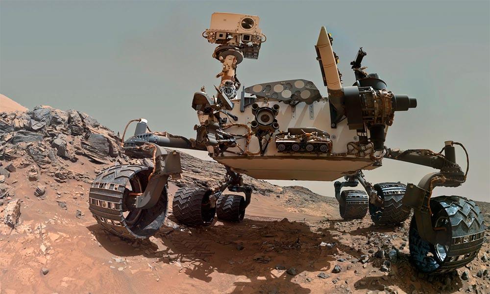 Марсоход Curiosity обнаружил на Марсе метан