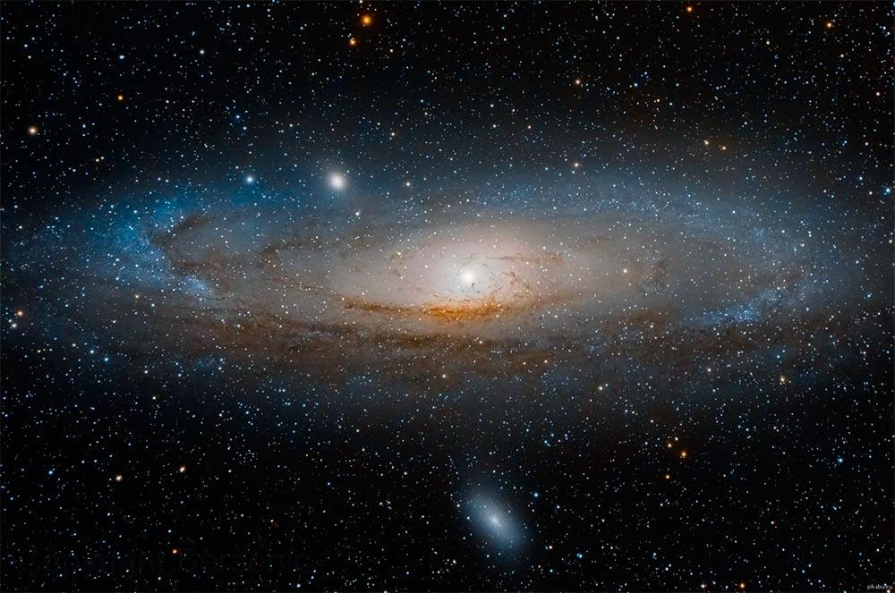 M31 - галактика Туманность Андромеды