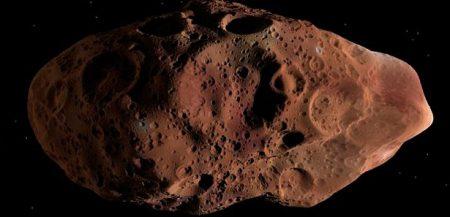 Амальтея: пятый по размеру спутник Юпитера