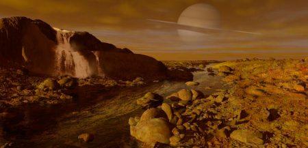 Атмосфера Земли, 2,5 миллиарда лет назад напоминала атмосферу Титана
